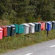 Angående postkasser og brev fra Posten