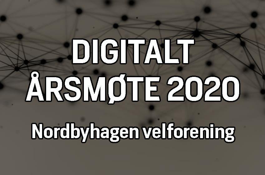 Digitalt årsmøte 2020